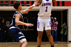 CIAC Boys Basketball; Crosby 103 vs. Ansonia 54 - Photo # 095