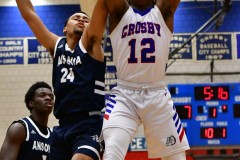 CIAC Boys Basketball; Crosby 103 vs. Ansonia 54 - Photo # 099