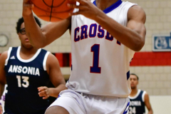 CIAC Boys Basketball; Crosby 103 vs. Ansonia 54 - Photo # 104