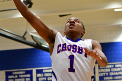 CIAC Boys Basketball; Crosby 103 vs. Ansonia 54 - Photo # 106