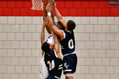 CIAC Boys Basketball; Crosby 103 vs. Ansonia 54 - Photo # 110