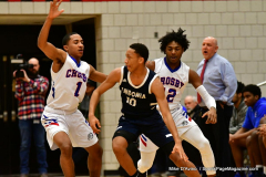 CIAC Boys Basketball; Crosby 103 vs. Ansonia 54 - Photo # 131