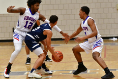 CIAC Boys Basketball; Crosby 103 vs. Ansonia 54 - Photo # 138
