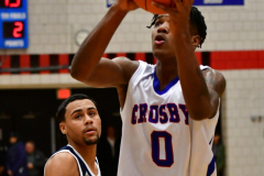 CIAC Boys Basketball; Crosby 103 vs. Ansonia 54 - Photo # 199