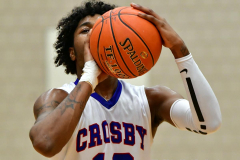 CIAC Boys Basketball; Crosby 103 vs. Ansonia 54 - Photo # 242