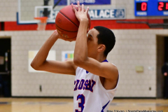 CIAC Boys Basketball; Crosby 107 vs. Wilby 53 - Photo # (116)