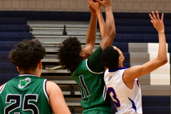 CIAC Boys Basketball; Crosby 107 vs. Wilby 53 - Photo # (135)