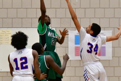 CIAC Boys Basketball; Crosby 107 vs. Wilby 63 - Photo # (59)