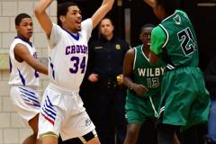 CIAC Boys Basketball; Crosby 107 vs. Wilby 63 - Photo # (71)