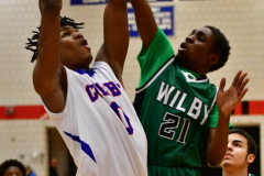 CIAC Boys Basketball; Crosby 107 vs. Wilby 63 - Photo # (80)