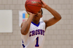 CIAC Boys Basketball; Crosby 107 vs. Wilby 63 - Photo # (91)