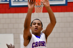 CIAC Boys Basketball; Crosby 107 vs. Wilby 63 - Photo # (92)
