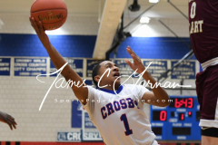 CIAC Boys Basketball - Crosby 58 vs. Sacred Heart 64 - Photo (43)
