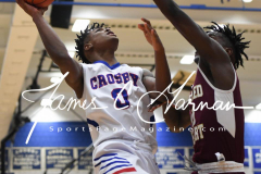 CIAC Boys Basketball - Crosby 58 vs. Sacred Heart 64 - Photo (62)