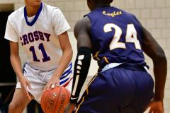 CIAC Boys Basketball; Crosby 85 vs. Kennedy 66 - Photo # 091