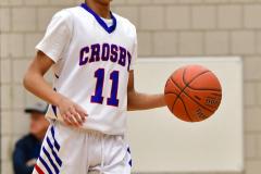 CIAC Boys Basketball; Crosby 85 vs. Kennedy 66 - Photo # 136