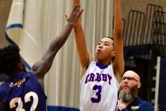 CIAC Boys Basketball; Crosby 85 vs. Kennedy 66 - Photo # 138