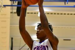 CIAC Boys Basketball; Crosby 85 vs. Kennedy 66 - Photo # 154