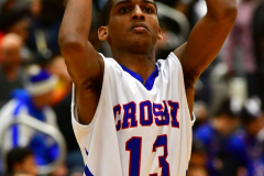 CIAC Boys Basketball; Crosby 86 vs. Holy Cross 70 - Photo # 026a