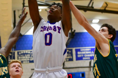 CIAC Boys Basketball; Crosby 86 vs. Holy Cross 70 - Photo # 101