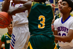CIAC Boys Basketball; Crosby 86 vs. Holy Cross 70 - Photo # 113