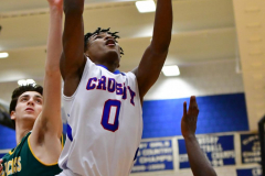 CIAC Boys Basketball; Crosby 86 vs. Holy Cross 70 - Photo # 118