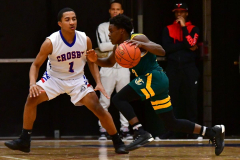 CIAC Boys Basketball; Crosby 86 vs. Holy Cross 70 - Photo # 119