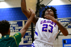 CIAC Boys Basketball; Crosby 86 vs. Holy Cross 70 - Photo # 123
