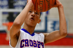 CIAC Boys Basketball; Crosby 86 vs. Holy Cross 70 - Photo # 143