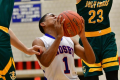 CIAC Boys Basketball; Crosby 86 vs. Holy Cross 70 - Photo # 181