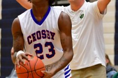 CIAC Boys Basketball; Crosby 86 vs. Holy Cross 70 - Photo # 211