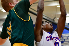CIAC Boys Basketball; Crosby 86 vs. Holy Cross 70 - Photo # 213