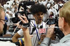 CIAC Boys Basketball Division III Finals - #1 Farmington 55 vs #9 Amistad 45 - Photo (127)