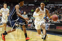 CIAC Boys Basketball Division III Finals - #1 Farmington 55 vs #9 Amistad 45 - Photo (15)