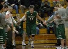CIAC Boys Basketball Farmington 64 vs. Northwest Catholic 62 (45)