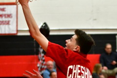 CIAC Boys Basketball; Cheshire vs. Southington - Photo # 035
