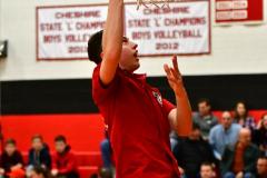 CIAC Boys Basketball; Cheshire vs. Southington - Photo # 041