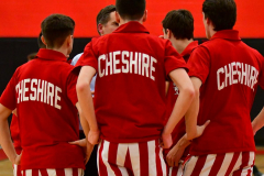 CIAC Boys Basketball; Cheshire vs. Southington - Photo # 057