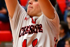CIAC Boys Basketball; Cheshire vs. Southington - Photo # 298