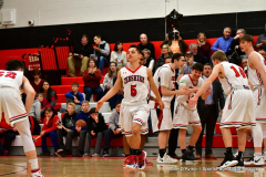 CIAC Boys Basketball; Cheshire vs. Southington - Photo # 339
