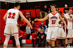CIAC Boys Basketball; Cheshire vs. Southington - Photo # 344