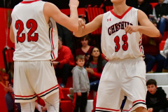 CIAC Boys Basketball; Cheshire vs. Southington - Photo # 348