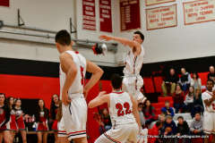 CIAC Boys Basketball; Cheshire vs. Southington - Photo # 353