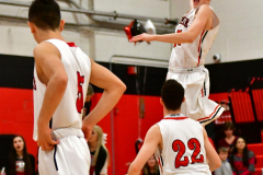 CIAC Boys Basketball; Cheshire vs. Southington - Photo # 354