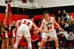 CIAC Boys Basketball; Cheshire vs. Southington - Photo # 368