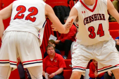 CIAC Boys Basketball; Cheshire vs. Southington - Photo # 371