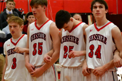 CIAC Boys Basketball; Cheshire vs. Southington - Photo # 394