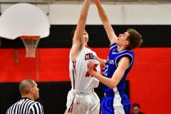 CIAC Boys Basketball; Cheshire vs. Southington - Photo # 409