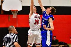CIAC Boys Basketball; Cheshire vs. Southington - Photo # 410