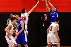 CIAC Boys Basketball; Cheshire vs. Southington - Photo # 417